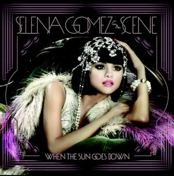Selena Gomez da a conocer la portada When the sun foes down