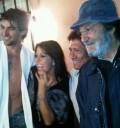 Alejandra Guzmán en grabación de Una Familia con suerte