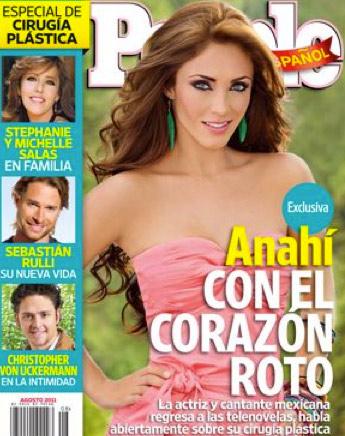 Anahí en portada de People en Español