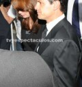 Angelica Rivera llega al funeral de su papá