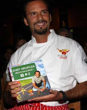 Sale del aire Al sabor del chef