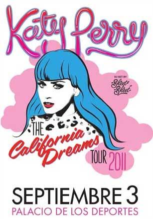 Katy Perry 3 de septiembre en Palacio de los Deportes