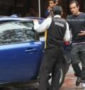 Poncho Herrera y su auto