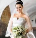 Maite Perroni como novia en Triunfo del amor