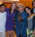 Alejandra Guzmán y Silvia Pinal con Pancho Lopez