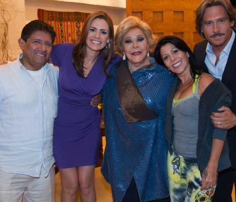 Avance de Alejandra Guzmán en Una familia con suerte