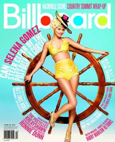 Selena Gómez en Billboard