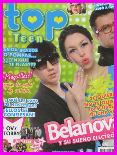 Belanova en Revista Top Teen