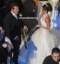 Anahí y Sergio Goyri en su boda