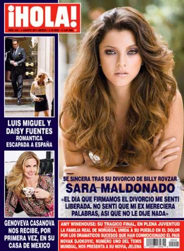 Sara Maldonado habla de su divorcio en HOLA