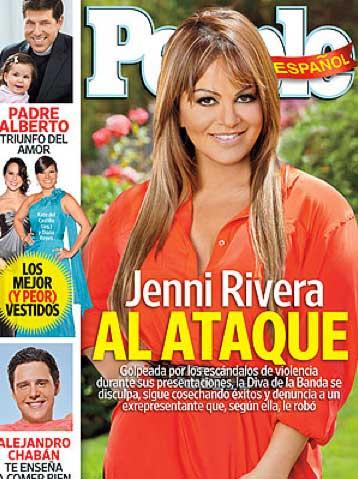 Jenni Rivera habla de sus escándalos en People