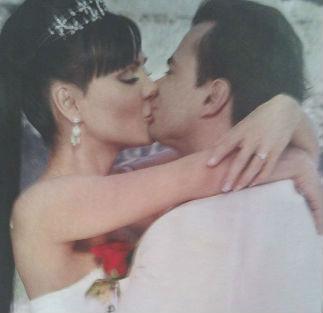Maribel Guardia y Marco Chacón se casaron por la iglesia