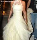 Anahí vestida de novia