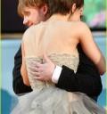 Emma Watson y Rupert en Alfombra roja de Harry Potter