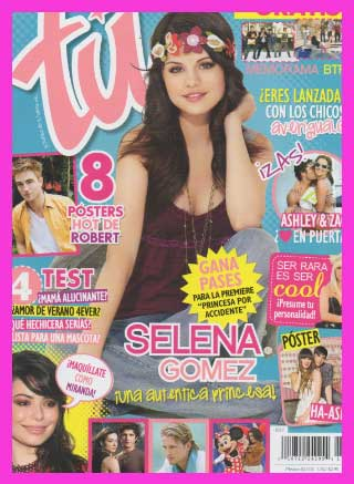 Selena gomez en revista t tv y espect culos for Chismes del espectaculo en mexico