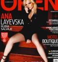 Ana Layevska en Portada de Open