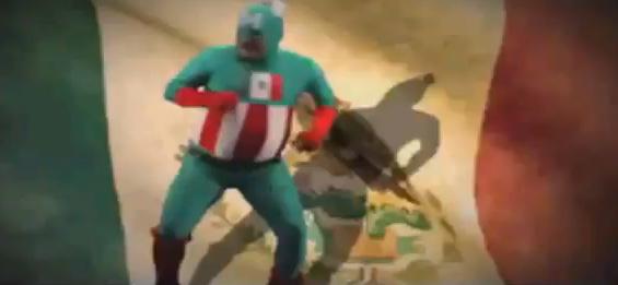 Capitán América versión mexicana