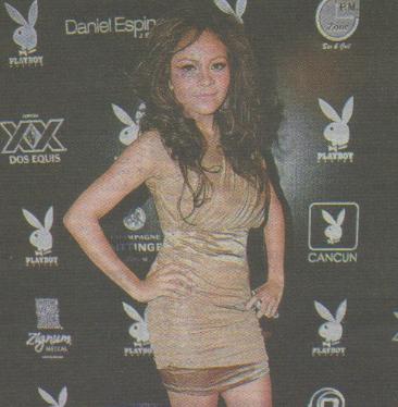 Daiana cambia de imagen para Playboy