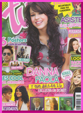 Danna Paola en Revista Tú