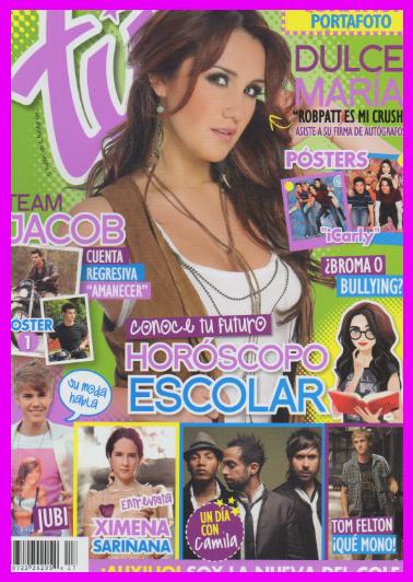 Dulce María en Revista Tú