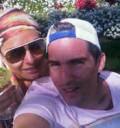 Galilea Montijo con su esposo en Hawaii