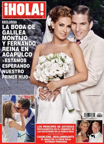 Galilea Montijo confirma embarazo