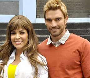 Gloria Trevi graba video con Julian Gil