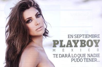 Pilar Montenegro en PlayBoy de septiembre