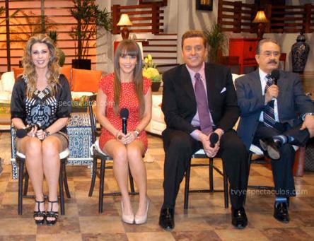 Amenazan a Atala Sarmiento y al equipo de Ventaneando por hablar de Galilea Montijo y Andrea Legarreta
