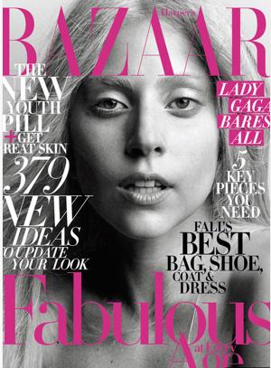 Lady Gaga en Revista Bazar