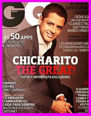 Chicharito en GQ