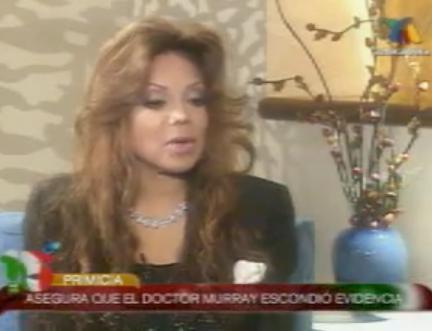 Atala Sarmiento entrevista a La Toya Jackson