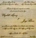 Invitación a la boda de Jorge Salinas y Elizabeth Álvarez