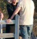 Diego Luna en grabación de video con Katy Perry