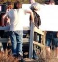 Diego Luna con Katy Perry grabando video