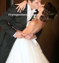 Jacquie Bracamontes en su boda religiosa