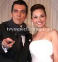 Jorge Salinas en su boda con Elizabeth Álvarez