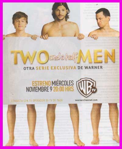 Two and a Half men con Ashton Kutcher inicia este 9 de noviembre en México