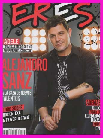 Alejandro Sanz en Revista ERES