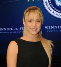 Shakira dio un discurso en la Casa Blanca