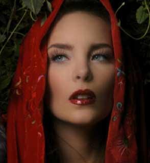Belinda como Caperucita Roja