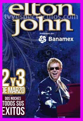 Elton John en Auditorio Nacional 2 y 3 de marzo