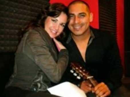 Espinoza Paz y María José graban video de Así o más