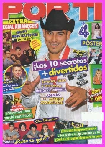 Espinoza Paz en Revista Por Ti