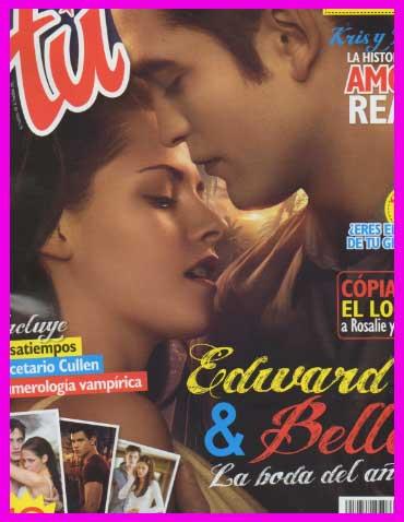 Eduard y Bella en Revista Tú