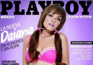 Daiana causa polémica en Playboy