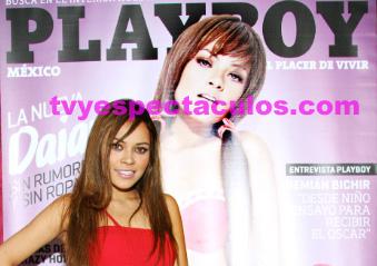 Daiana presenta su portada de PlayBoy