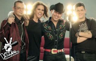 Anuncian La voz México La gira en el Auditorio Nacional