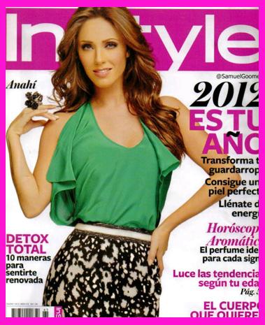 Anahí en Revista InStyle