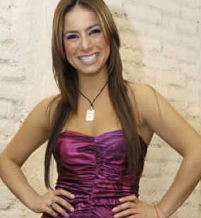 Claudia Lizaldi en Nuestro Día por Canal 28